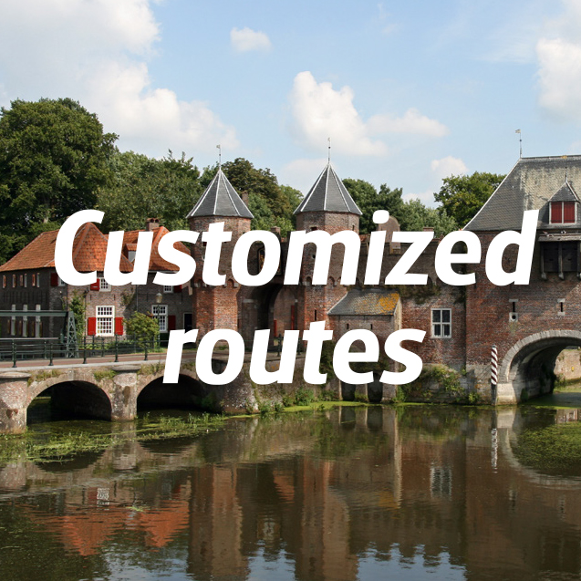 customized routes